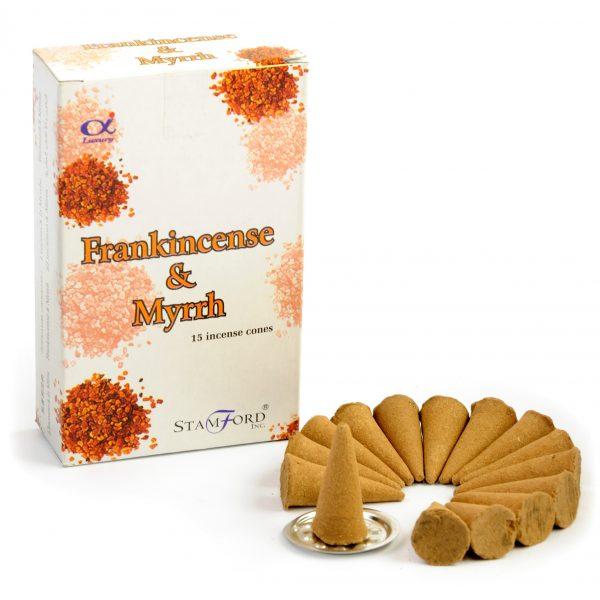 Incense Cones Frankincense & Myrrh