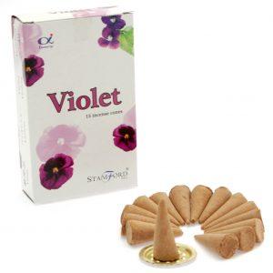 Incense Cones Violet