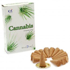 Incense Cones Cannabis