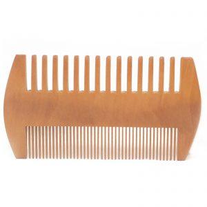 Bamboo Pearwood Beard Comb