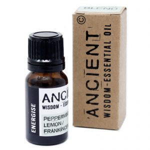 Ancient Wisdom Pure Essential Oil 10ml Blend Boxed Peppermint Lemon Frankincense