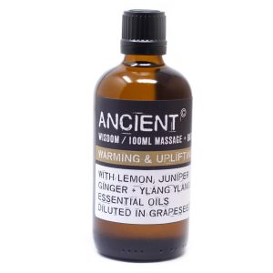 Massage Oil 100ml Warming and Uplifting
