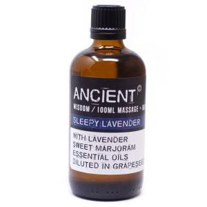 Massage Oil 100ml Sleepy Lavender