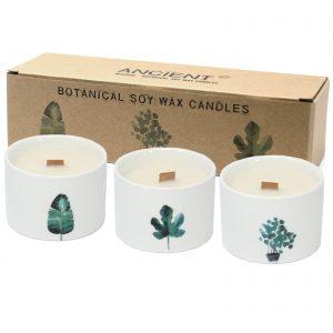 Botanical Soy Wax Candles