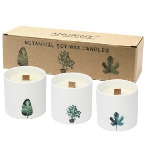 Botanical Soy Wax Candles