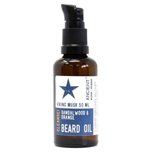 Viking Musk Sandalwood and orange bear oil
