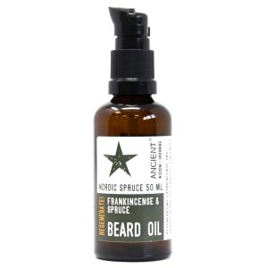 Nordic Spruce Frankincense and spruce beard oil