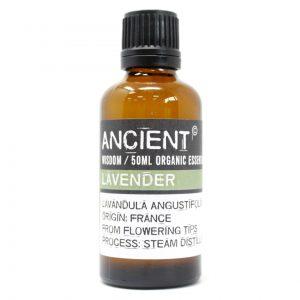 Ancient Wisdom Pure Organic Essential Oil 50ml Lavender