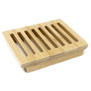 Wooden Soap Dish Drainer Grid