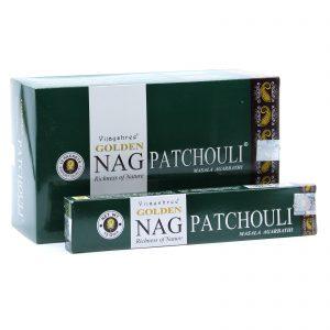 Golden Nag Patchouli Incense