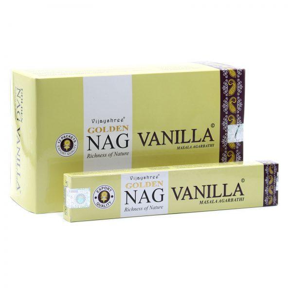 Golden Nag Vanilla Incense