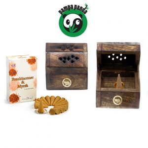 Panda Deal Incense Smoke Box with FREE incense Cones