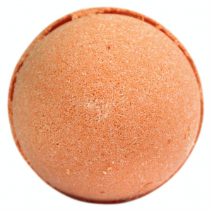 tangerine and grapefruit bath bomb