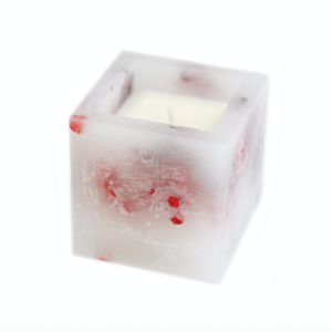 Enchanted Candle Rose Small Square
